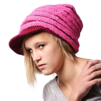 Wollmütze Pink Bhatti