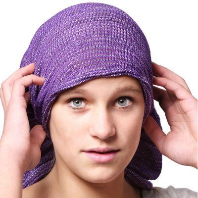 magischer Mütze Magic Purple