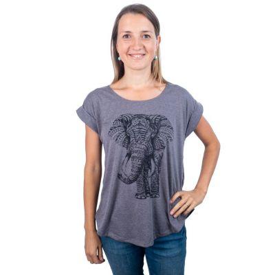 T-shirt Darika Elephant Grey