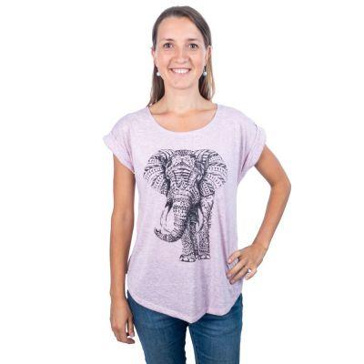 T-shirt Darika Elephant Pinkish