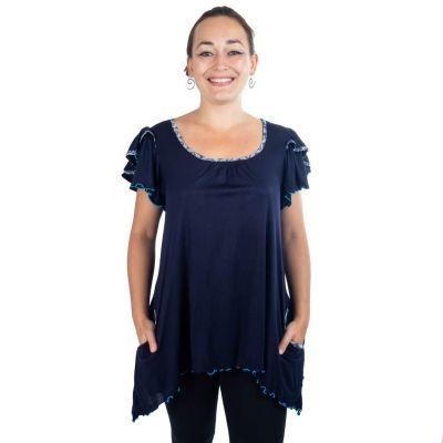 Bluse Jina Prussian Blue