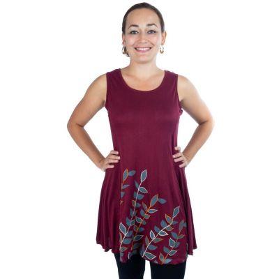 Kleid Gopala Burgundy