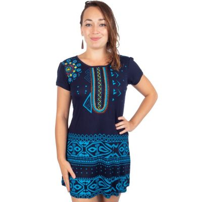 Kleid Chipahua Prussian Blue