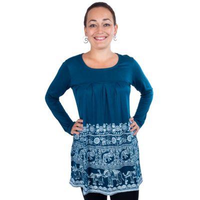 Kleid Myra Petrol Blue
