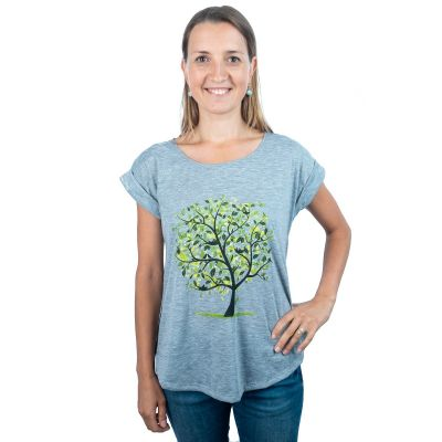T-shirt Darika Meadow Tree Greenish