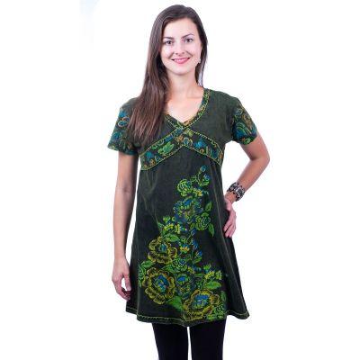 Kleid Leila Hijau