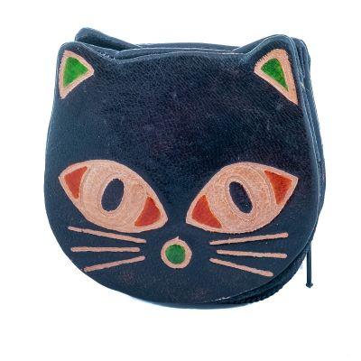 Portemonnaie Kätzchen - schwarz