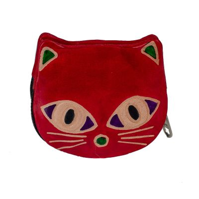 Portemonnaie Kätzchen - rot