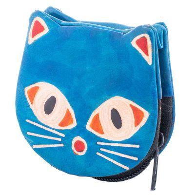 Portemonnaie Kätzchen - blau
