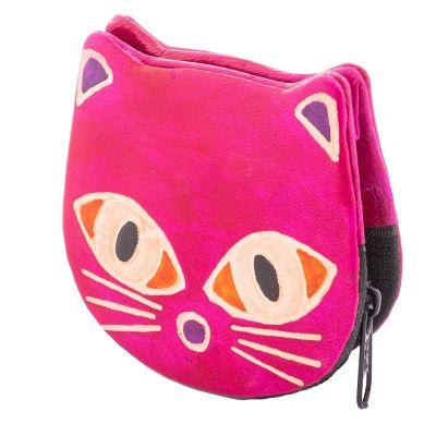Portemonnaie Kätzchen - rosa