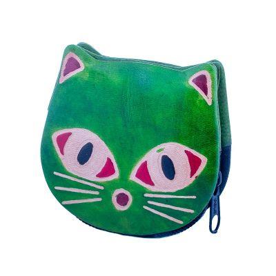 Portemonnaie Kätzchen - grün