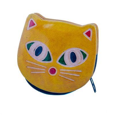 Portemonnaie Kätzchen - gelb