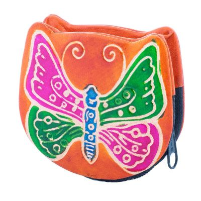 Portemonnaie Schmetterling - orange