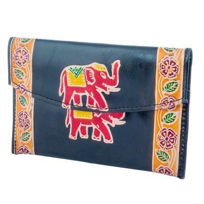 Portemonnaie Elefant 3in1 - schwarz