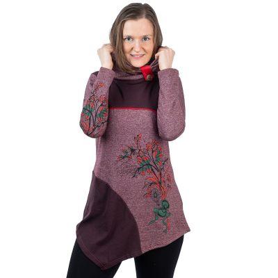 Kleid Neela Plum