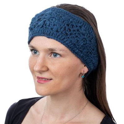 Haarband Bardia Dark Blue