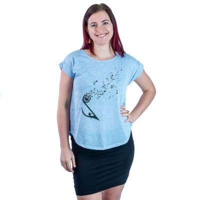 T-Shirt Darika Music Dandelion Bluish