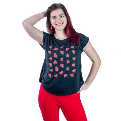 T-Shirt Darika Watermelons Black