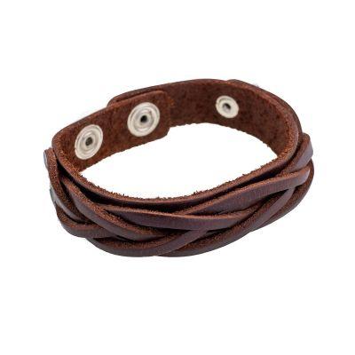 Armband Anyaman Kecil Brown