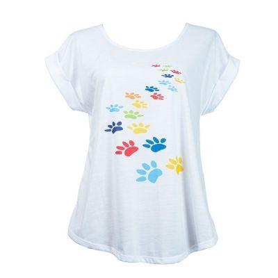 T-Shirt Darika Pawprints