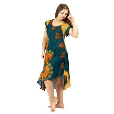 Kleid Yami Lumut - kurze Ärmel