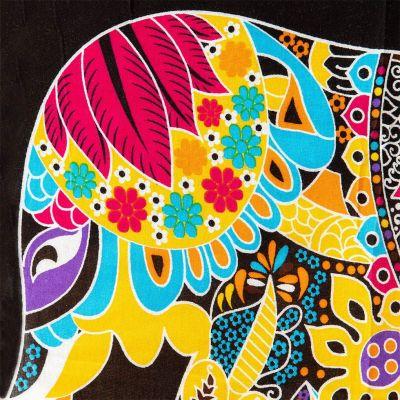 Sarong / Pareo Elefant gelb Thailand