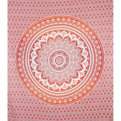 Überdecke Mandala – rot