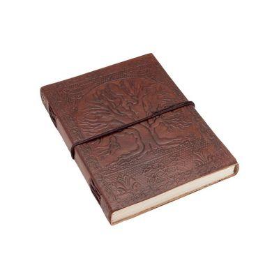 Leder-Notizbuch Baum des Lebens | mini, klein