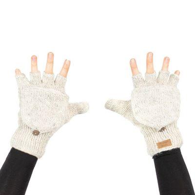 Handschuhe Butwal White