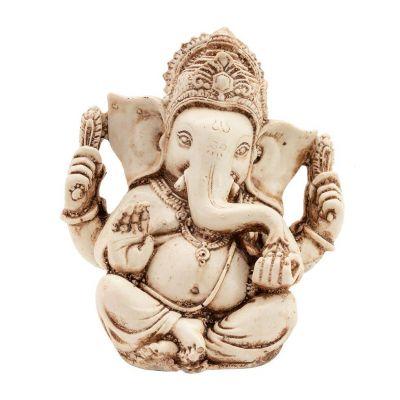 Figur Weißer Ganesh