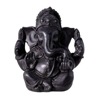 Figur Schwarzer Ganesh