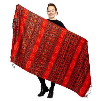 Schal Adrika Merah