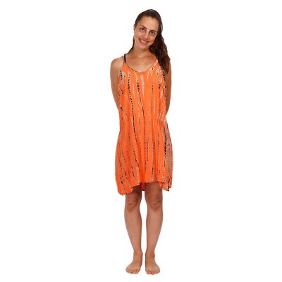 Kleid Gajra Orange