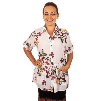 Damenhemd Sumalee Kupu-kupu | UNI