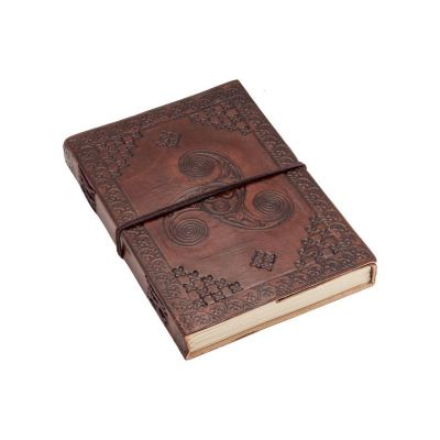 Notizbuch Keltische Spirale