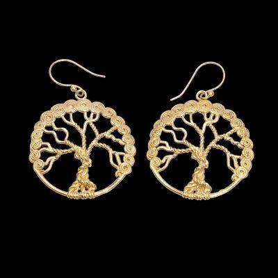 Ohrringe Tree of Life