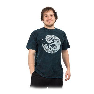 T-shirt Yin&Yang Tree Blue