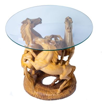 Tisch Drei Pferde