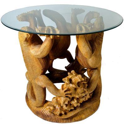 Tee-Tisch Komodo-Warane