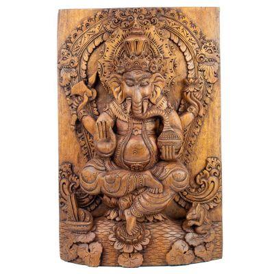 Holzschnitzerei Ganesha