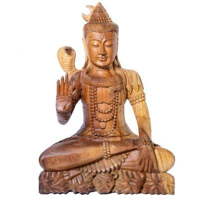 Statue Sitzender Shiva