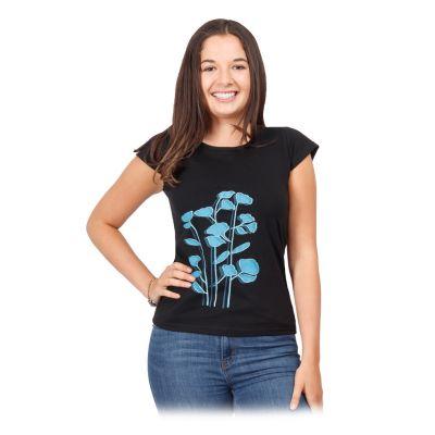 Frauen Ethno T-Shirt mit kurzen Ärmeln Bayou   S, M, L, XL, XXL
