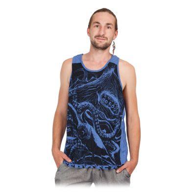 Tanktop für Herren Sure Octopus Blue   M, L, XL, XXL