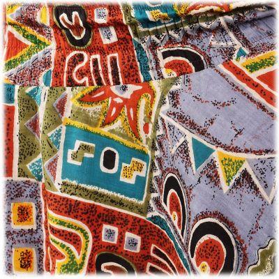 Haremshose Inca's Graffitti India