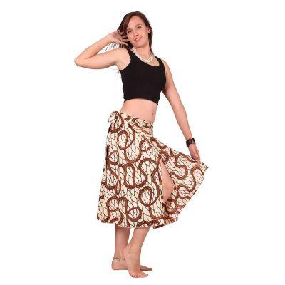 Wraparound skirt Dewa Pagru