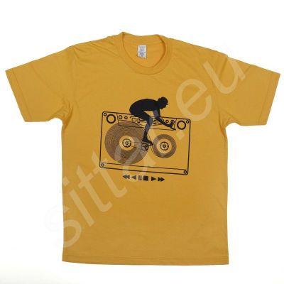 T-shirt Tapebiker