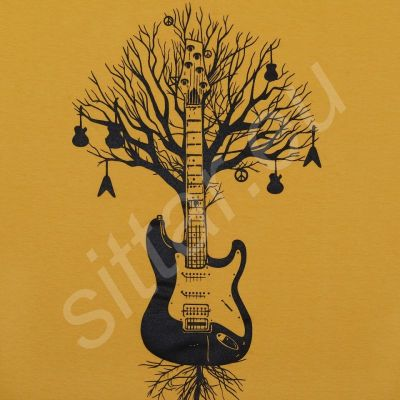 T-shirt Guitar Tree