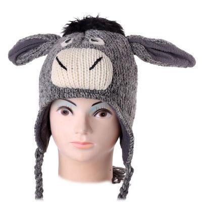 Wollmütze Donkey
