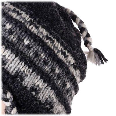 Wollmütze Annapurna Black
