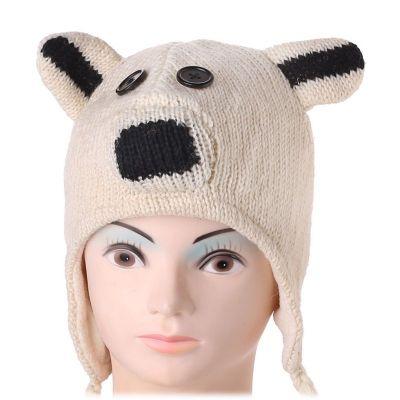 Mütze Polar bear